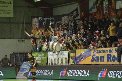 Copa reina el guard s quiere llevarse o inferno a for Polideportivo ciudad jardin malaga